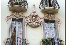 Doors, gates, windows & balconies / by Candy Meredith