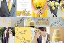 Wedding - Grey and Yellow / by Madeline Cope