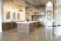Commercial kitchen / by Kelly Larsen
