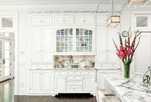 kitchen cabinets / by Jennifer Scranton-Watson