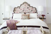 Bedroom Design Ideas / Bed designs, headboards, footstools, armchairs, window treatments, ceilings, pendant light fixtures, flooring, rugs, nightstands and decorating concepts for bedrooms. / by Prismma — Interior Design Magazine