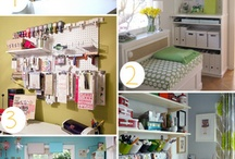 Craft Rooms / by Vickie Sorrell