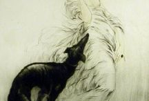 art deco - Louis Icart / dreamy / by lucy cooper