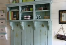 Home: Mud Room Inspirations! / Make a lasting impression with a great organized Mud room.  Find great ways to organize your mudroom. / by Designed Decor