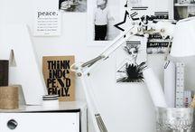 Home office & Workspace / by Anna Zielinska