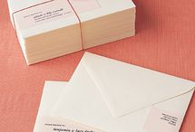 Dream Wedding: Mail-outs  / by Sarah Brown