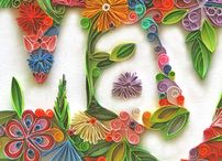 quilling / by apurva v