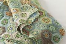 Crochet Blankets, Afghans, Squares N Such / by Tam Zimmerman