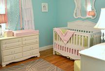 Baby girl nurseries / by Valerie Love