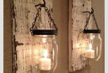 Mason jars / by Shanie Bosch-Fourie