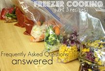 Freezer meals. Make ahead. / by Melissa B