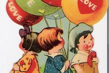 vintage valentines / by Maureen Bosch