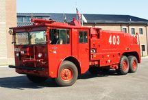 Crash Rescue Fire Trucks / by J. 1976