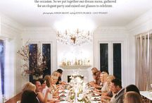 Dinner party / by Alealovely