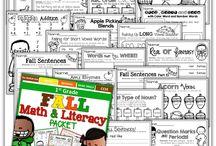 Fall activities / by Rand McNally Education