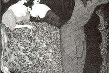 Aubrey Beardsley Drypoint Etchings and Illustrations / by Brandt VerSteegh