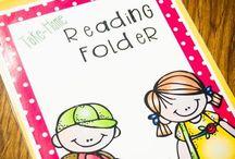 language arts/reading / by Kendra Bradey
