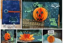 Sizzix Halloween Pop-up Dies / by Karen Burniston
