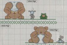Cross stich baby / by roberta pais