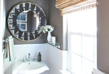 At Home: Powder Room / by Eileen Donoghue
