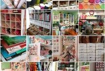 Craft room ideas / by Kimberly DelGiudice Brewer