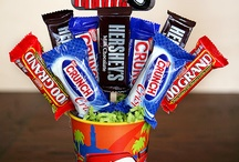 candy bouquets / by Linda Miller