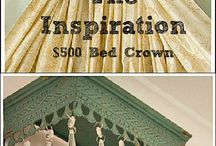 Beds & headboards n bed crowns / by Red Barn Antiques & Collectibles