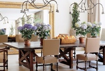 Dining Rooms / that make you want to linger around the table after desert is finished. http://CasaStephensInteriors.blogspot.com / by Casa Stephens Interiors.com