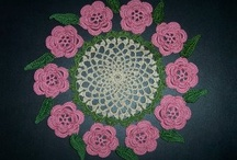 crocheted doilies / by Marcia Evans