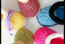 crochet slippers/hats/scarf / by Samantha Hutchison