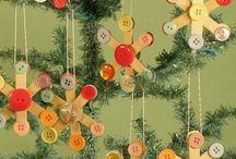 Friday Family Fun: Holiday Ornament Workshop / Family program, November 30, 4:30 - 5:00 at Clark Pleasant Branch - It's that time of year—time to decorate the tree! We're making fun holiday ornaments here at the library so we can do just that! Join us as we create colorful ornaments out of a variety of materials. Then, you can even help decorate the library's tree with one of the ornaments you've made! / by Johnson County Public Library