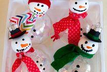 Christmas  ornaments / by Sara Warnock