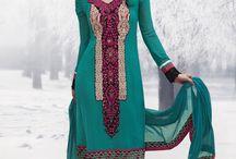 Pakistani outfits / by wahida shahbaz