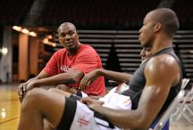 Howard/Olajuwon Workouts / by Houston Rockets