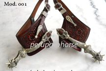 Spurs for Peruvian Paso Horses / Peruvian Spurs, made of Nickel or Silver, Colonial designs.   / by Peru Paso Horse