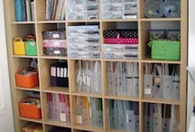 Scrapbook room / Craft room decor / by Tracy Loughrie
