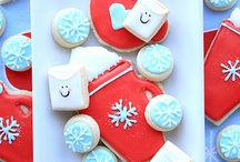 Sugar Cookie Swipes / Sugar cookie decorating ideas / by Shelly Hinds