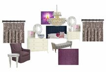 Radiant Orchid Room Challenge on Olioboard / by Modern Age Designs, LLC