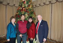 Annual Christmas Open House / Long time supporters Arlene & Len Rolsen host Christmas, collecting gifts to give to veterans & their families which receive treatment at Brooke Army Medical Center in San Antonio, TX. / by Impact A Hero