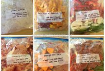 Leah & Kristin's healthy freezer meal adventure / by Leah Remmers