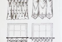 CORTINAS (drapes) / by Jane Zandonadi