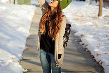 Winter Fashion  / by Danielle Schmalfeldt