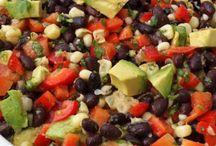 Salads / by Elli Kolschefsky-Friesen