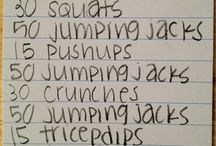 workouts / by Breanna Backstrom