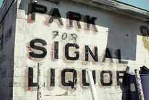 SIgnage / by Abe Lincoln Jr.