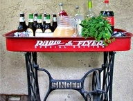 EVEN THOUGH I DON'T REALLY DRINK - MY BAR CART / by Melanie McClung