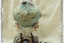 paper clay and paper mache / by Malinda Richard