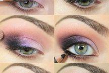 hair and beauty / beauty products, makeup, nail polish, hair / by Melissa Dawn