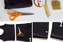 Costuras e customização / Por favor se vc for o dono destas fotos postei somente por acha-las lindas sem fins lucrativos .  / by Sara Oliveira Echeverria