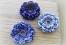 crochet flowers / by Sharla Horner